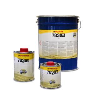 783(E) combina un rendimiento anti-adherente industrial de alto rendimiento con una protección extrema contra la corrosión y resistencia a la expulsión por acción del agua.