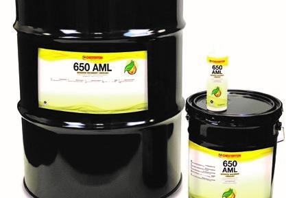 650 AML Biodegradable, Prolonga la Vida Útil del Equipo al Reducir significativamente el Desgaste